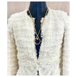 Chanel-Chanel vintage long necklace 1995-Gold hardware