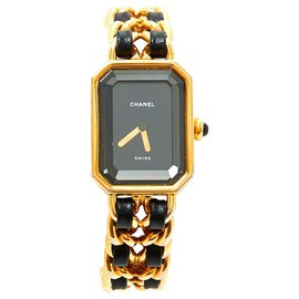 Chanel-Premiere M 1987-Black,Golden