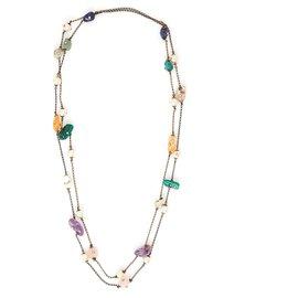 Chanel-BELT LONG SLEEVE 97A GEMSTONES-Multiple colors