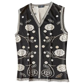 Chanel-Chanel sleeveless sweater-Other