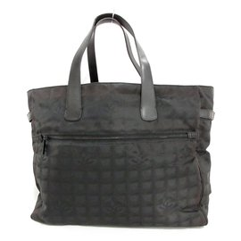 Chanel-Chanel Travel bag-Black