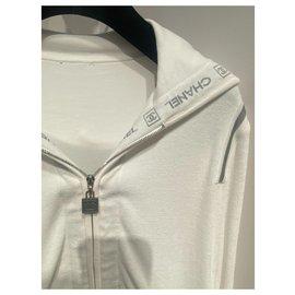 Chanel-Knitwear-White,Grey