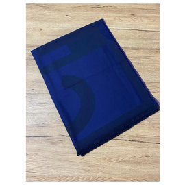 Chanel-CHANEL stole-Blue
