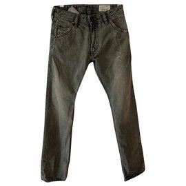 Diesel-Pants-Grey