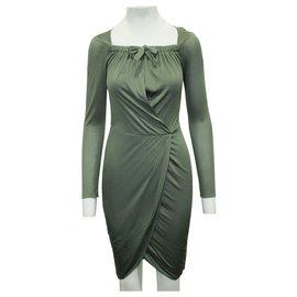 3.1 Phillip Lim-Khaki Casual Dress-Green