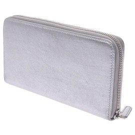 Chanel-Chanel wallet-Silvery