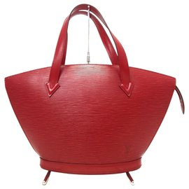 Louis Vuitton-Louis Vuitton Saint Jacques-Red