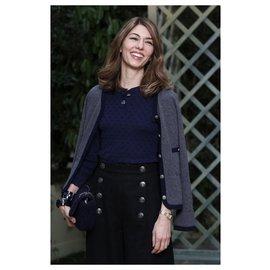Chanel-New HABMBURG Skirt-Black