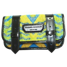 Proenza Schouler-Patterned Flap Pouch-Multiple colors