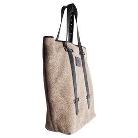 Proenza Schouler-Paper Bag Tote-Grey