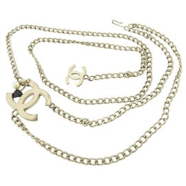 Chanel-05a CC lined Chain Belt-Other