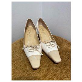 Chanel-Heels-Beige,Eggshell