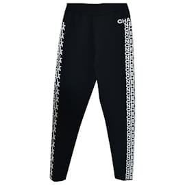 Chanel-2019-20FW Logo Pants / Leggins-Black