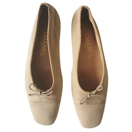 Chanel-Chanel balet shoes-Beige