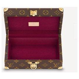 Louis Vuitton-Coffret LV Coffret neuf-Marron