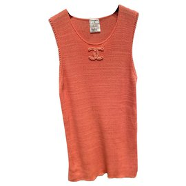 Chanel-Tops-Coral