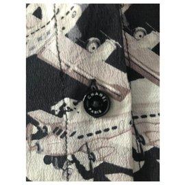 Chanel-Tops-Black,White,Grey