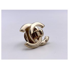 Chanel-Bag charms-Golden