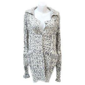 Chanel-Chanel long vest-Grey