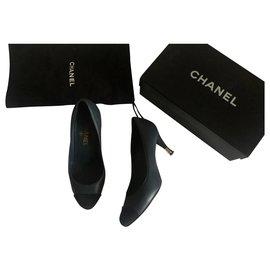 Chanel-Heels-Black,Blue