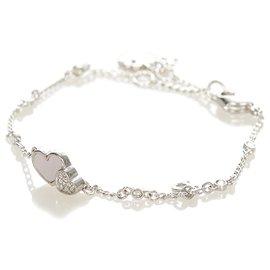 Dior-Bracelet chaîne à breloques Dior en argent-Argenté