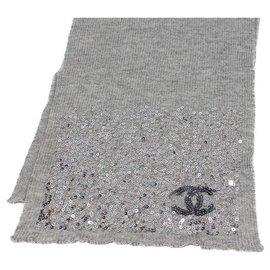 Chanel-Scarf CHANEL-Grey