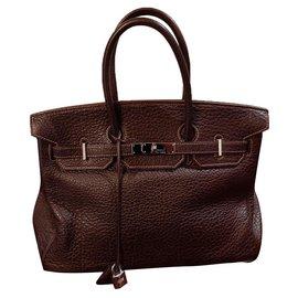 Hermès-Birkin-Chocolate