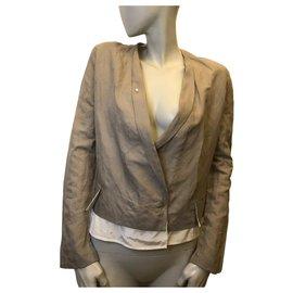 Acne-Gray jacket-Grey