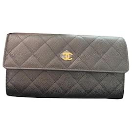 Chanel-CHANEL WALLET WITHOUT RELEASE-Black