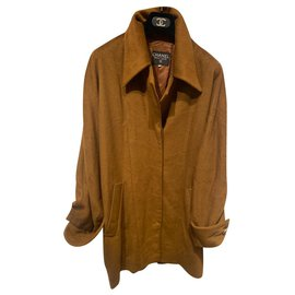 Chanel-Coats, Outerwear-Caramel