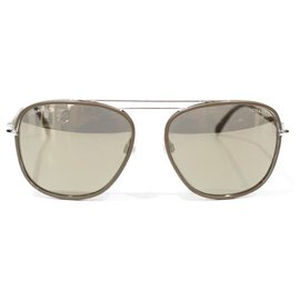 Chanel-Chanel sunglasses-Beige,Golden,Taupe