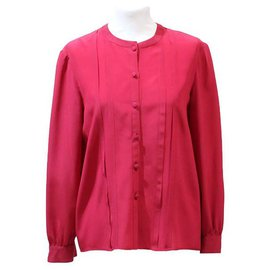 Chanel-CHANEL CREATIONS BLOUSE-Pink