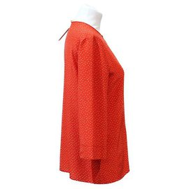Chanel-CHANEL CREATIONS BLOUSE-Red