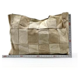 Chanel-Brown Suede Patchwork Tote Bag-Other