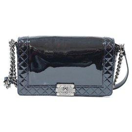 Chanel-Chanel boy bag-Blue