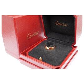 Cartier-cartier 18k Taille de bague LOVE en or rose 53-Bijouterie dorée