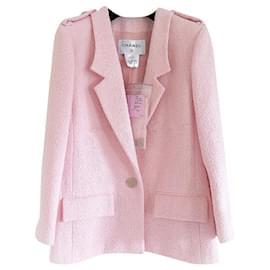 Chanel-6,8K$ Rare SEOUL Cruise Jacket-Pink