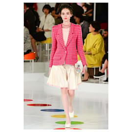 Chanel-6,8K$ Seltene SEOUL Cruise Jacke-Pink