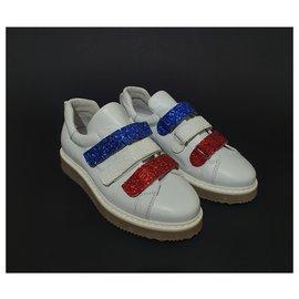 Jonak-Sneakers-White,Red,Blue