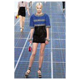 Chanel-Pearl Crop Tweed Jacket-Multiple colors