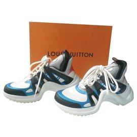 Louis Vuitton-LOUIS VUITTON Sneaker LV ARCHLIGHT very good condition T38 It-Multiple colors