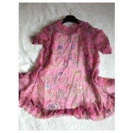 Chanel-Superb Chanel silk cardigan-Pink