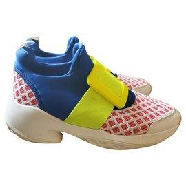Roger Vivier-roger vivier sneakers-Red,Blue,Yellow