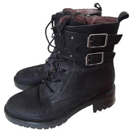 Ikks-Ankle Boots-Black