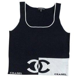 Chanel-Tops-Black