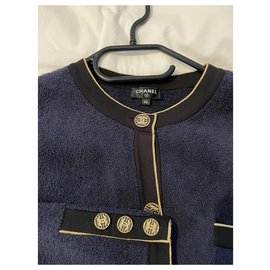 Chanel-Knitwear-Dark blue