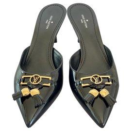 Louis Vuitton-Insider mules-Black
