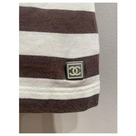 Chanel-Tops-Brown,White
