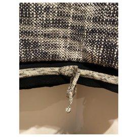 Chanel-Knitwear-Black,Golden