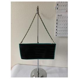 Chanel-Handbags-Black,Light blue